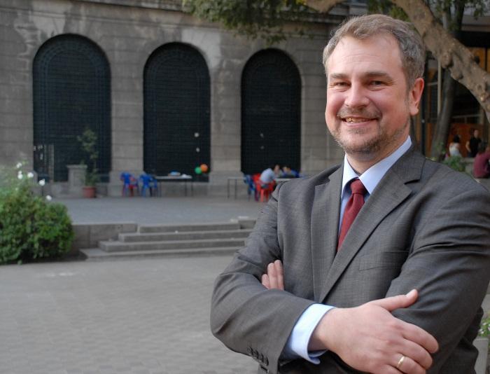 """Stefan Rinke, galardonado con el Premio de Investigación """"José Antonio Alzate"""""""